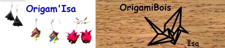 Les origamis d'Isabelle